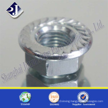 Carbon Steel Zinc Hex Flange Nut