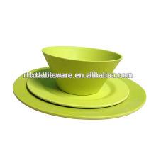 unique natural bamboo tableware set