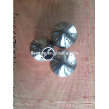bolted stainless steel fixed spray ball