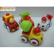 Carro plástico dos desenhos animados da fricção do brinquedo do carro para relativo à promoção