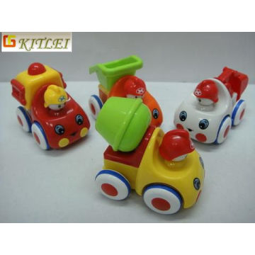 Voiture en plastique Car Toy Friction Cartoon pour promotionnel