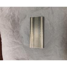 Disipador de calor de aleta de aluminio para portátil con radiador con cremallera