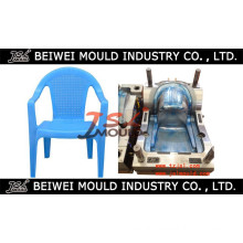 Injection Custom Rattan Imitation Plastic Chair Mould with Arm