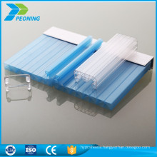 u locking polycarbonate skylight roofing sheets for sale