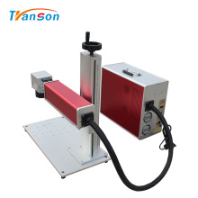 Mini Fiber Laser Engraving Machinery For Dog Tags