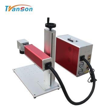 Mini maquinaria de grabado láser de fibra para placas de identificación
