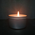 outdoor use travel tin candle