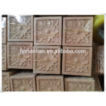 decorative cnc wood carving wood rosettes