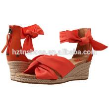 Damen-Art- und WeiseAbsatz-Pumpen-Schuh-Großverkauf China-Keil-Schuh für Frauen
