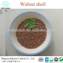 Dry crushed walnut shell abrasive 30# walnut shell granule