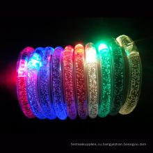 светодиодные акриловые браслеты для детей