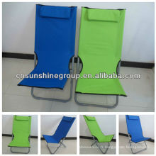 Oxford cloth folding sun chair