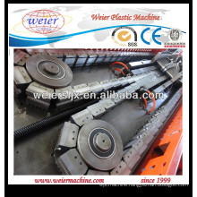 plastic single wall corrugated pipe machinery