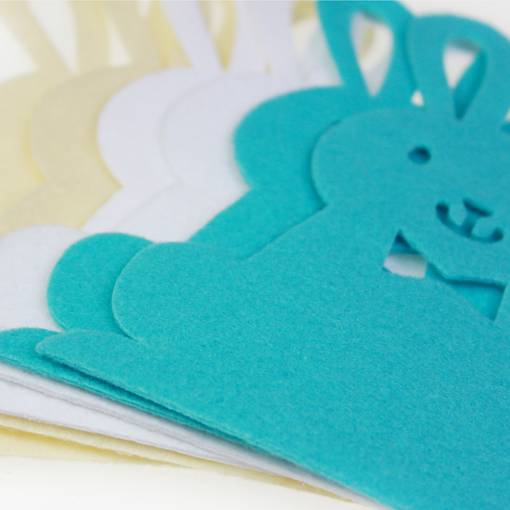 easter Felt bunny decoration
