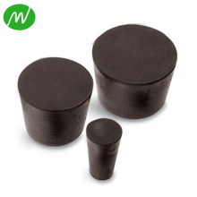Custom Industrial Molded Rubber Bung With Hole
