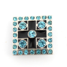 Bracelet Fastener Square Crystal Alloy Fashion Button