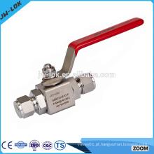 Válvula de esfera de aço inoxidável de 1-pc de alto desempenho