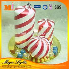 Vela de faixa espiral best-seller com material inócuo