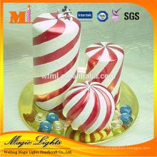 Самых продаваемых спираль свечи полосу с безобидный Материал