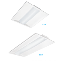UL /ETL/DLC recessed led lighting 2x2 2x4ft led troffer, 125lm/w LED 2*4 TROFFER /RETROFIT KIT 24w-50W 3000K 4000K 5000K