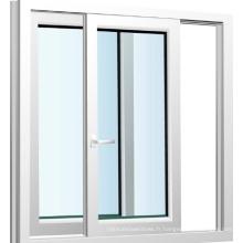 Fenêtre coulissante en aluminium de glaçage de double vitrage avec le prix bon marché