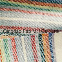 Schönes und modisches gestreiftes Leinengewebe (QF16-2502)