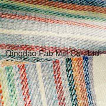 Beautiful and Fashionable Striped Linen Fabric (QF16-2502)