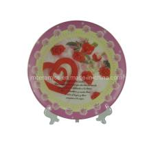 Фарфоровая свадебная тарелка (CZJM4131)