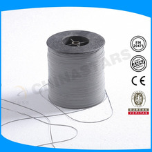 0.5mm double side PET film backing reflective sewing threads for caps
