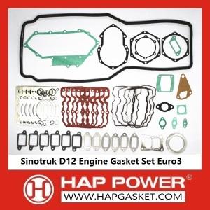 Juego de juntas de motor Sinotruk D12 Euro3