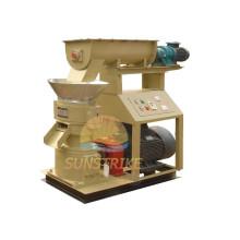 Alta qualidade CE 100 ~ 3000 Kg/H aglomerados de madeira faz a máquina / fornecedor da máquina da pelota de madeira