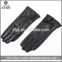 Gute Qualität neue Damen tragen Leder Handschuhe