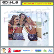 Hot selling eco-friendly PP material plastic sexy lingerie underwear packaging box