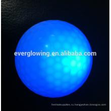 светодиодный светящийся мяч для гольфа, горячая распродажа 2017 на ночь