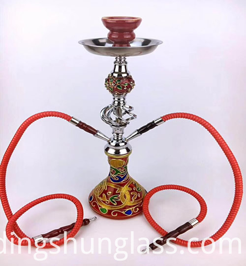 Detachable Double Tube Hookah