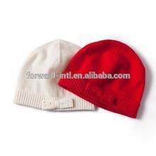 Sombrero de invierno de lana para mujer