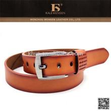 Neue orange Mode Damen Gürtel