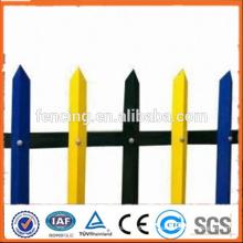 Top Qualität! Dekorative PVC beschichtete schmiedeeisernen Zaun --- ISO 9001, SGS