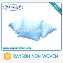 PP tela no tejida hilada para hacer la funda de almohada desechable