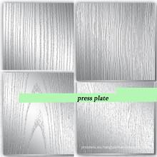 Soporte de acero de la placa de prensa para la máquina de prensa / placa de prensa de 5 mm