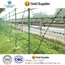 Clôture de protection de bâtiment / Barrière de fil