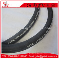 EPDM Material High Temperature Rubber Steam Hose With Steel Wire Braided