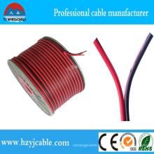 Плоский Twin Coresflexible плоский синий спикер кабель 2 * 2.5mm2