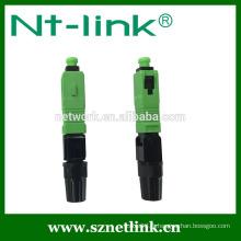 SC / UPC APC Connecteur optique d'assemblage rapide