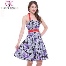 Los vestidos retros de los años 50 de la vendimia de Karin de la tolerancia los nuevos visten el vestido CL4595-6 #