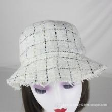 Gorro chapéu mulheres chapéu de inverno lã feltro