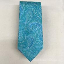 Italienische neueste Design Paisley Jacquard Oem Qualität für Herren Luxus 100% Seide Krawatte