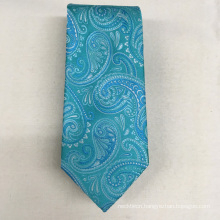 Italian Latest Design Paisley Jacquard Oem Quality for Mens Luxury 100% Silk Tie