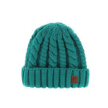 Knit Beanie Pattern Fashion Ladies Knitted Hat