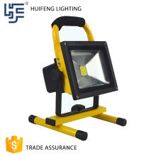 Factory made cheap led flood light battery 20w